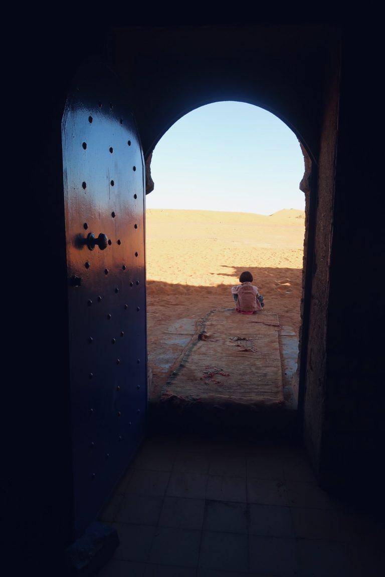 Voyage au Maroc désert de Sahara Merzouga la gazelle bleue
