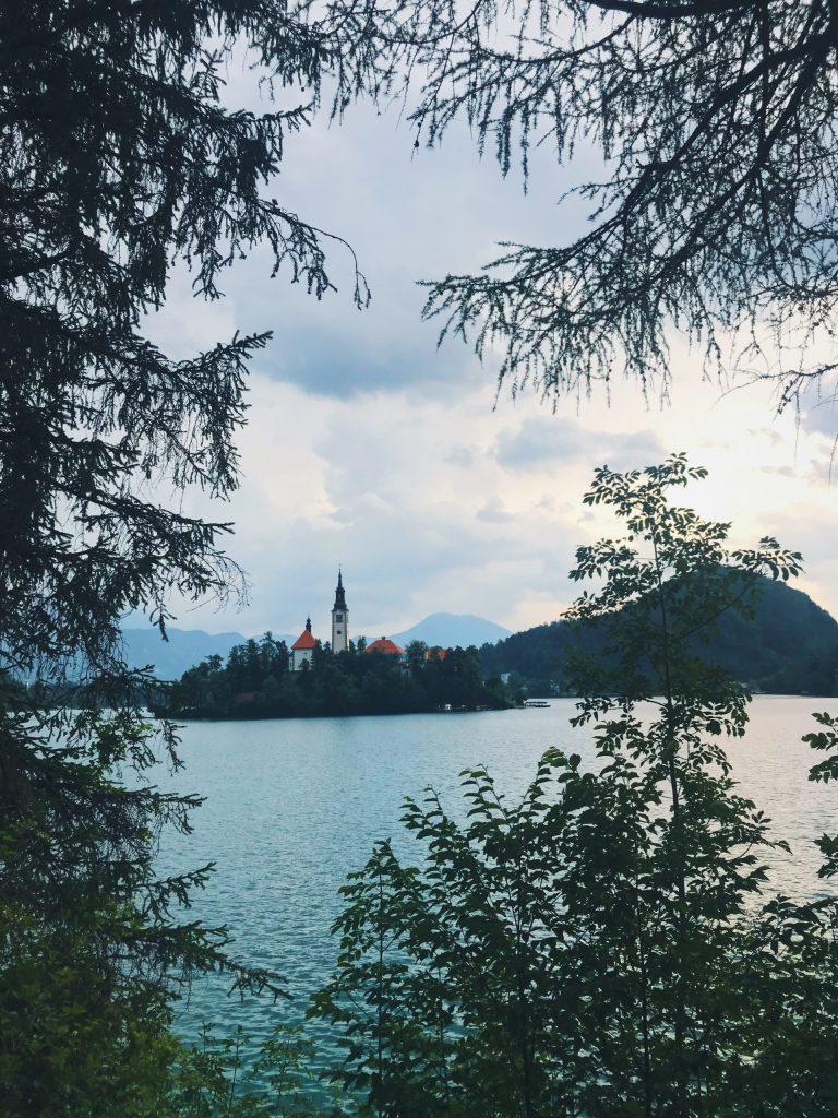 Le Lac Bled en Slovénie