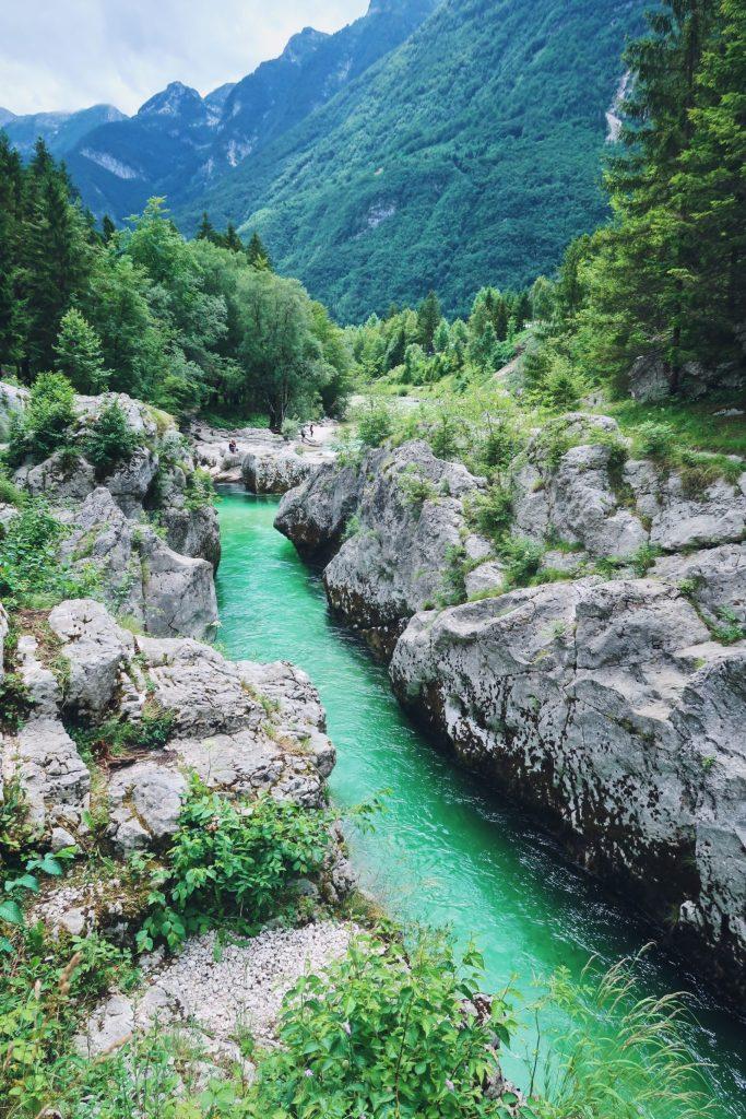 Slovénie Soca River
