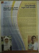 Profil saya di Tabloid Jendela FISIP Unair Edisi April 2011