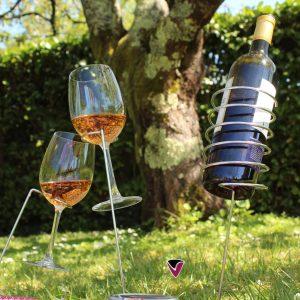porte bouteilles vin pique nique