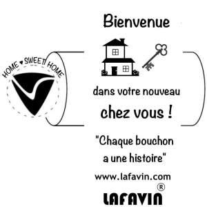 Bouchon bienvenue LAFAVIN