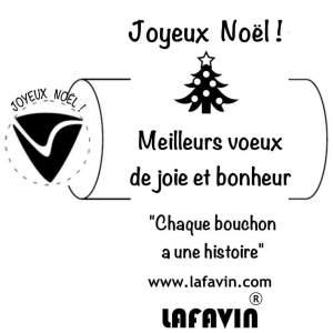 Bouchon noël LAFAVIN