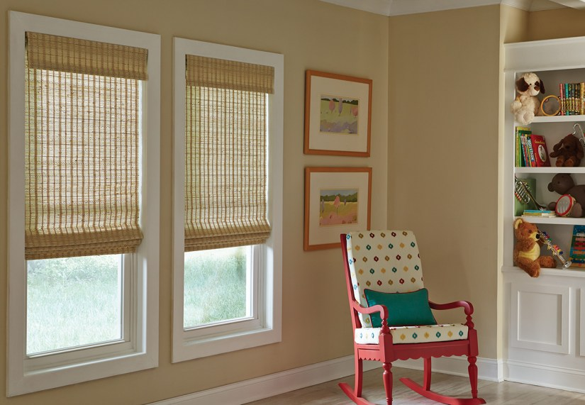 Woven wood shades may not be best for pets in your home