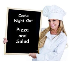 Cooks Night Out Pizza Salad