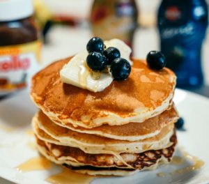 Buttery Pancakes at Cathedral Cafe