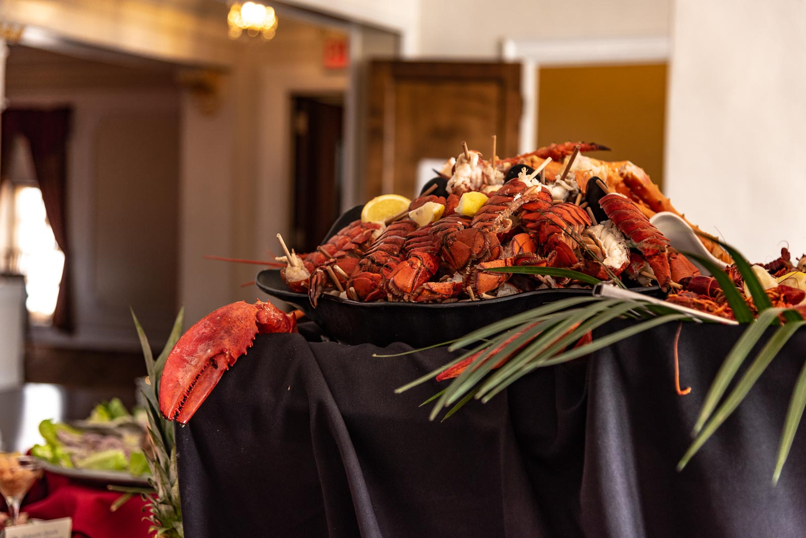 Corporate Party lobster