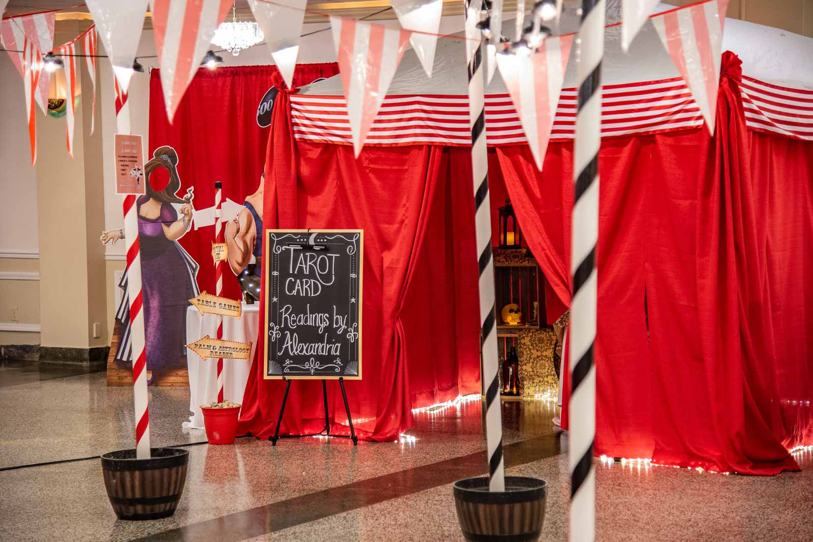 Corporate Party Carnival in the Lafayette Ballroom