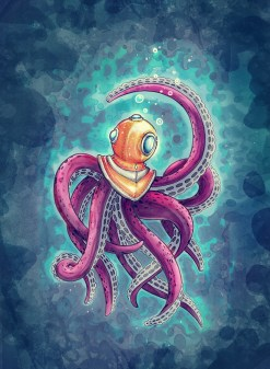 Octopus Low by Black Out Ronin