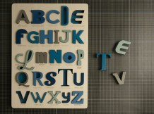 Font Alphabet Puzzle by Looodus