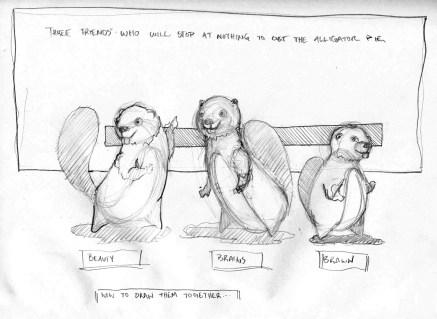 beaver drawings