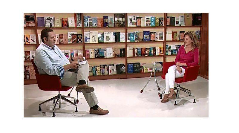 Entrevista a Monica Rouanet en Televisión Murciana