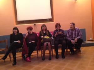 Intervención de Maruja Torres en la presentación de Amarillo luciérnaga