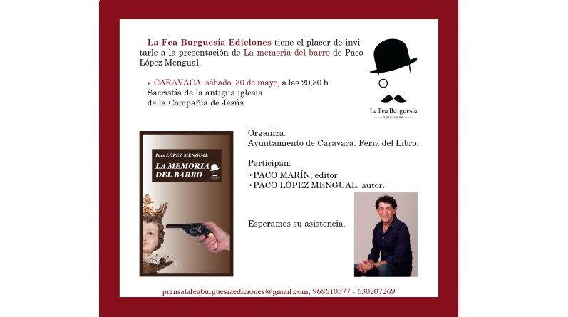 """Presentación de """"La memoria del barro"""" en Caravaca"""
