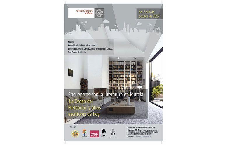 Encuentros con la literatura en Murcia
