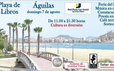 """La Fea Burguesía Ediciones y sus autores participan en el acontecimiento literario del verano """"La Playa de los Libros de Águilas"""""""