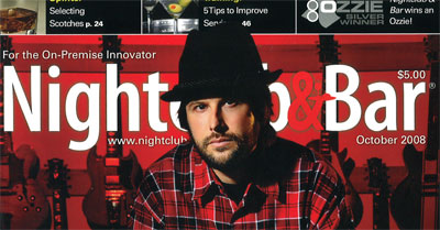 Nightclub and Bar magazine cover