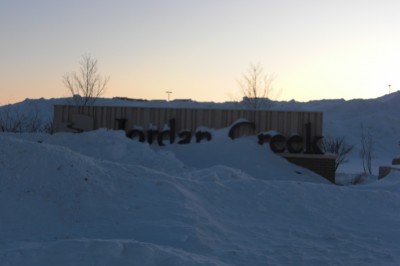 Snowstorm in Iowa