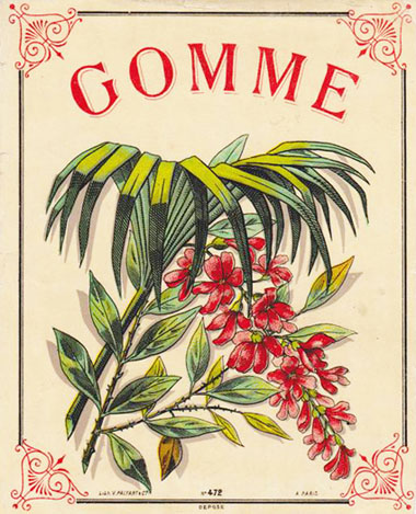 Poster for Gomme syrup
