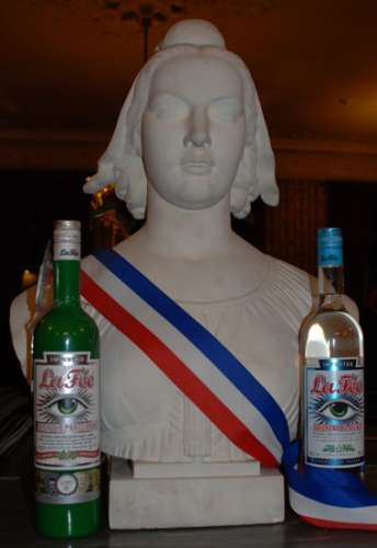 Marianne statue, symbol of France