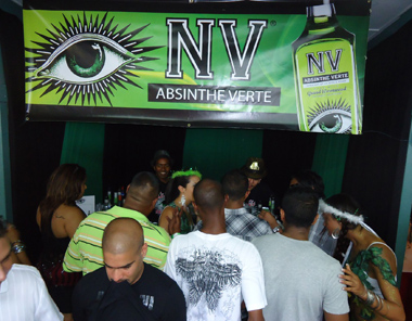 NV Absinthe in Trinidad