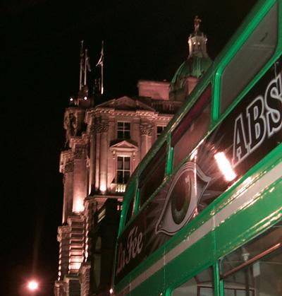 La Fée Bus in Scotland