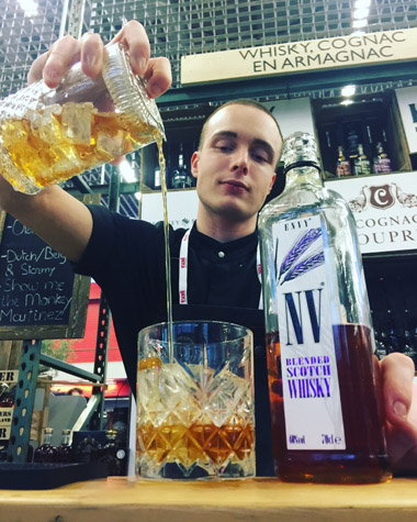 The Sin of Envy Whisky cocktail Stephen Copperthwaite