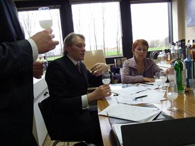 George Rowley & Marie-Claude Delahaye testing Blanche