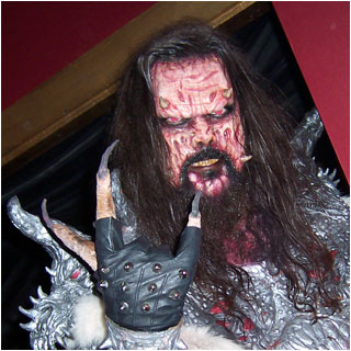 Lordi, the unholy overlord of tremors