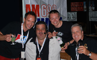 Dan Eves of La Fée at AM 690WIST