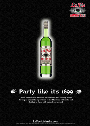 La Fée Party like it's 1899 Poster