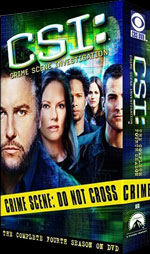 CSI DVD Cover