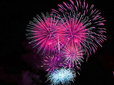 Fireworks at La Fée