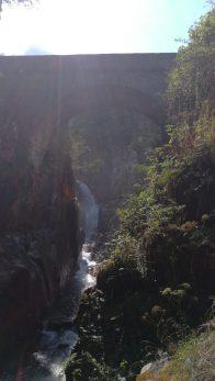Pont d'Espagne au dessus de Cauterets