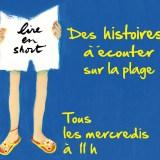 Lire en short : Des histoires à écouter sur la plage