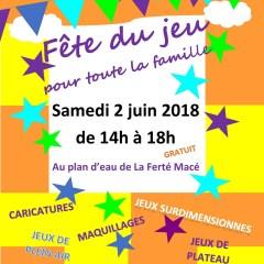 La Fête du Jeu – Samedi 2 juin