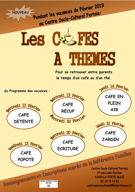 Les Cafés à Thèmes