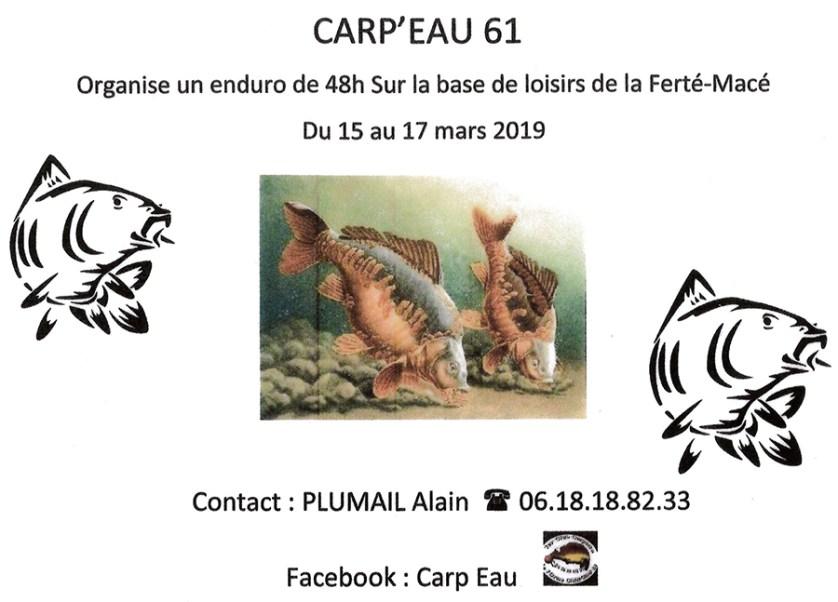 Enduro Pêche - Mars 2019