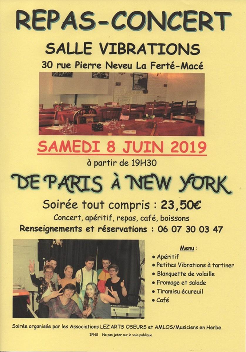 Repas Concert Juin 2019
