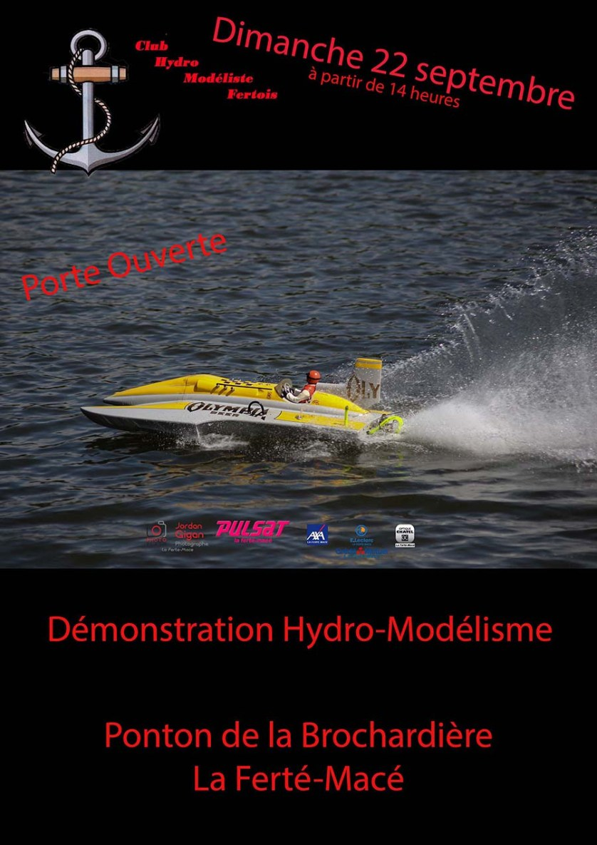 Hydro-modélisme Septembre 2019