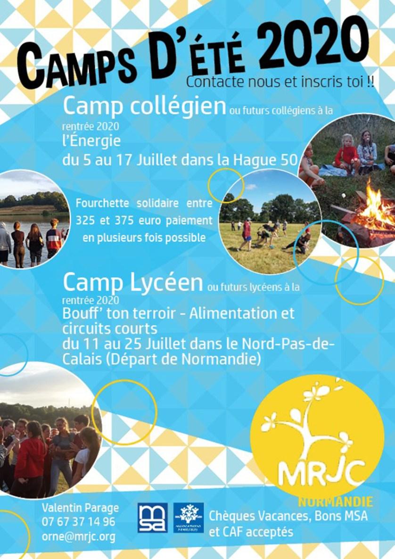 MRJC Camps 2020
