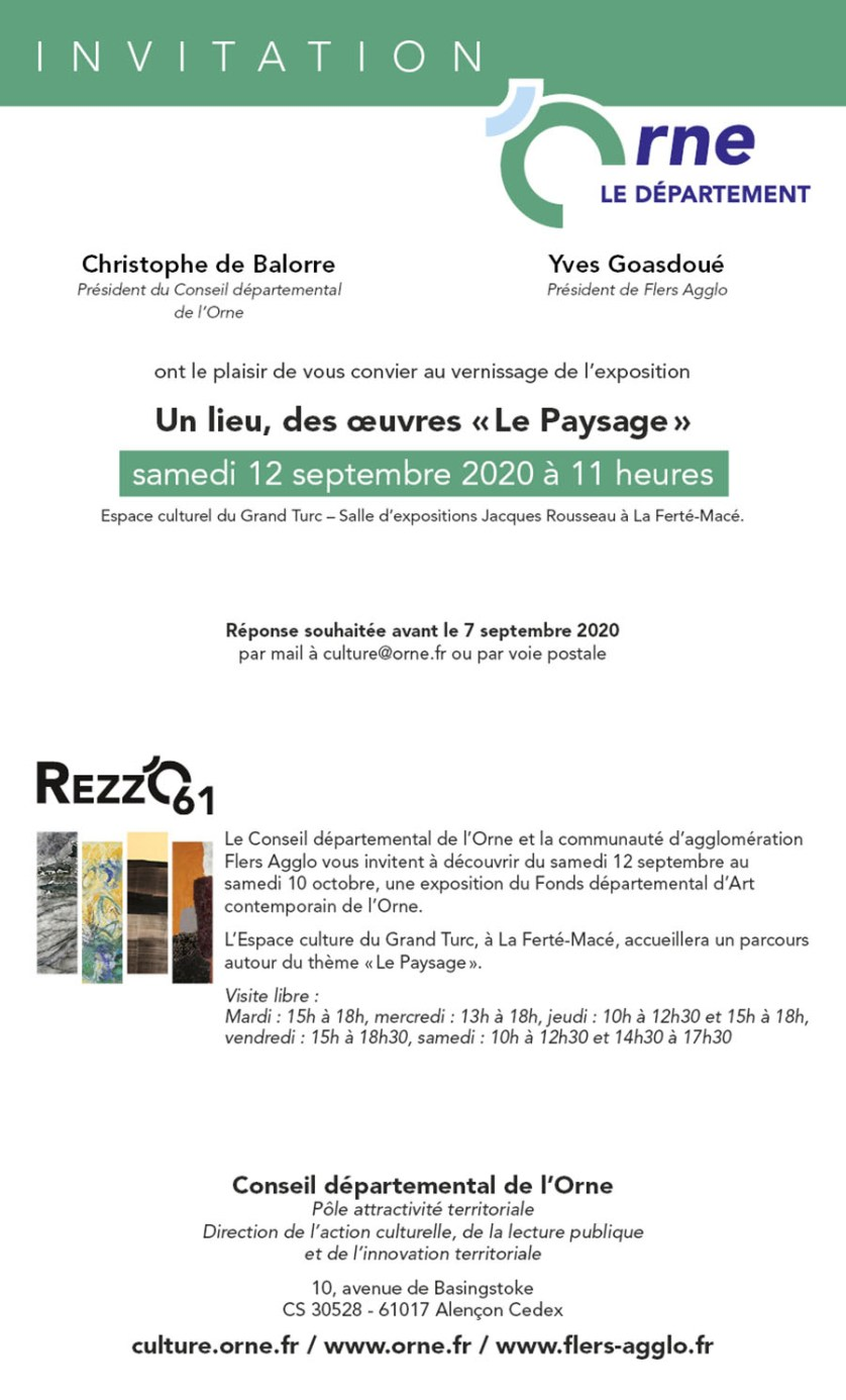 Exposition Paysage