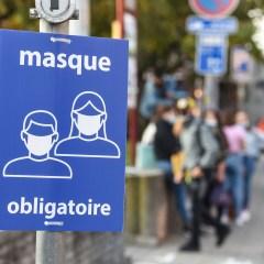 Port du masque obligatoire du 17 octobre au 1er novembre – nouvel arrêté