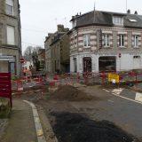 Travaux de la Rue des Fossès-St-Denis