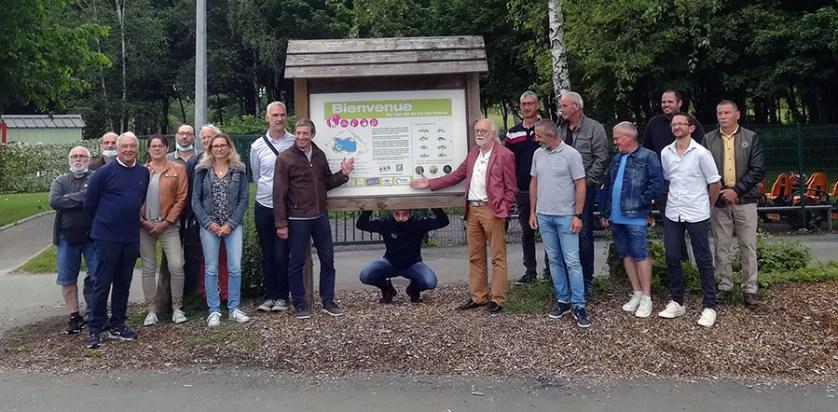 Inauguration Parcours Pêche en Famille 2021