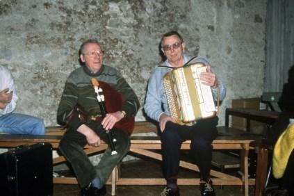 Joseph Ruols (cabrette), André Raynal (accordéon)