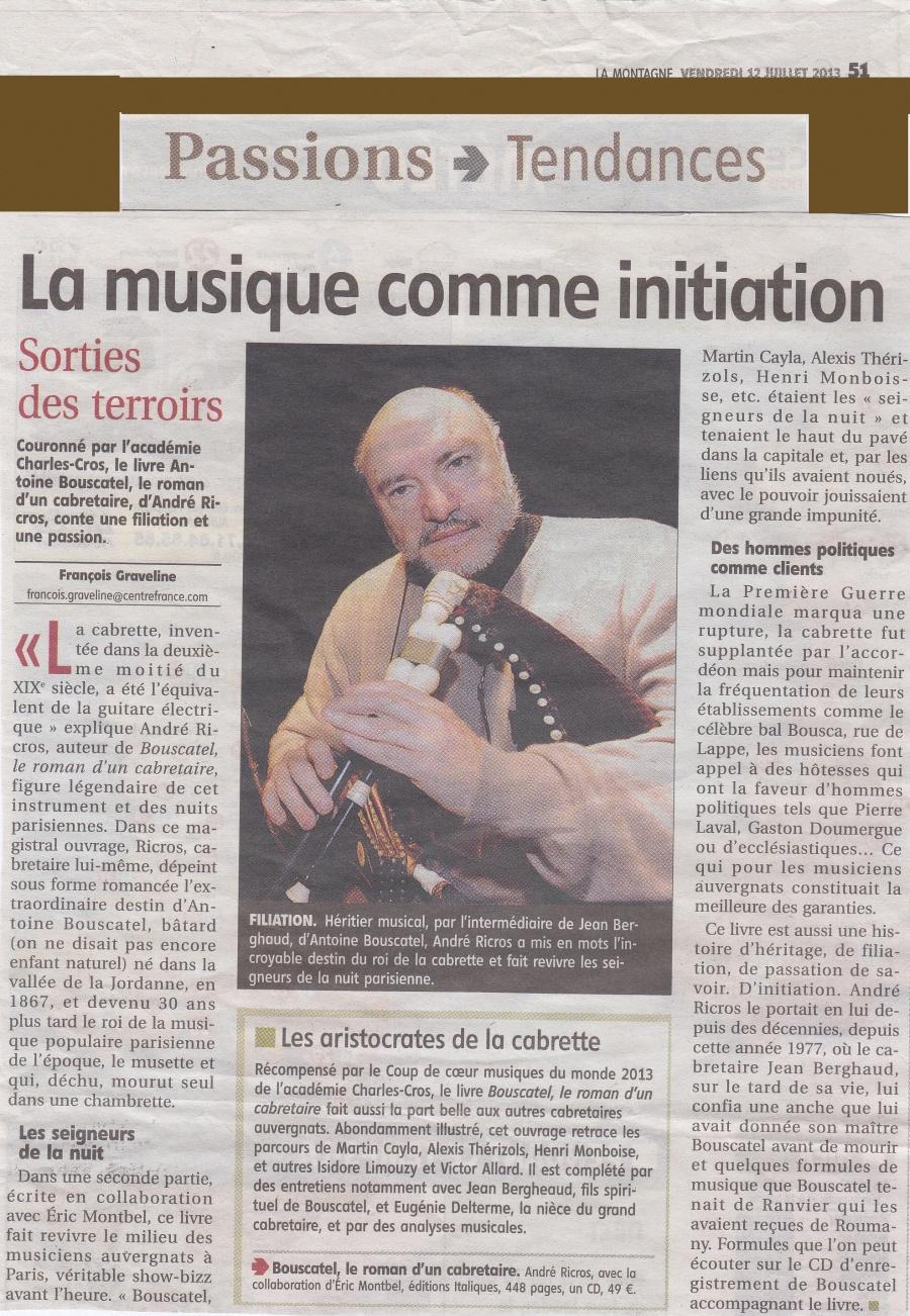 Article La Montagne André