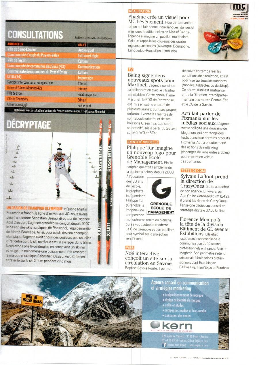 article MC l'événement- interMédia26-03-2014