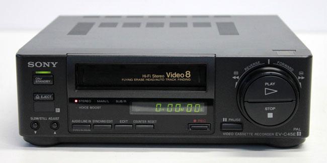 l amta recherche un lecteur de cassettes hi8 amta. Black Bedroom Furniture Sets. Home Design Ideas