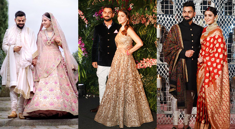 Virushka-Wedding-Reception-Dress - Outfit - Laffaz Media